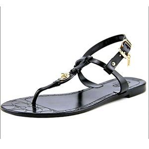 Coach Pier Black jelly sandals